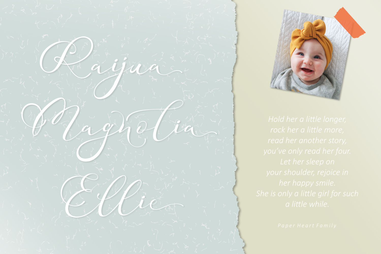Adonessia Font example image 6