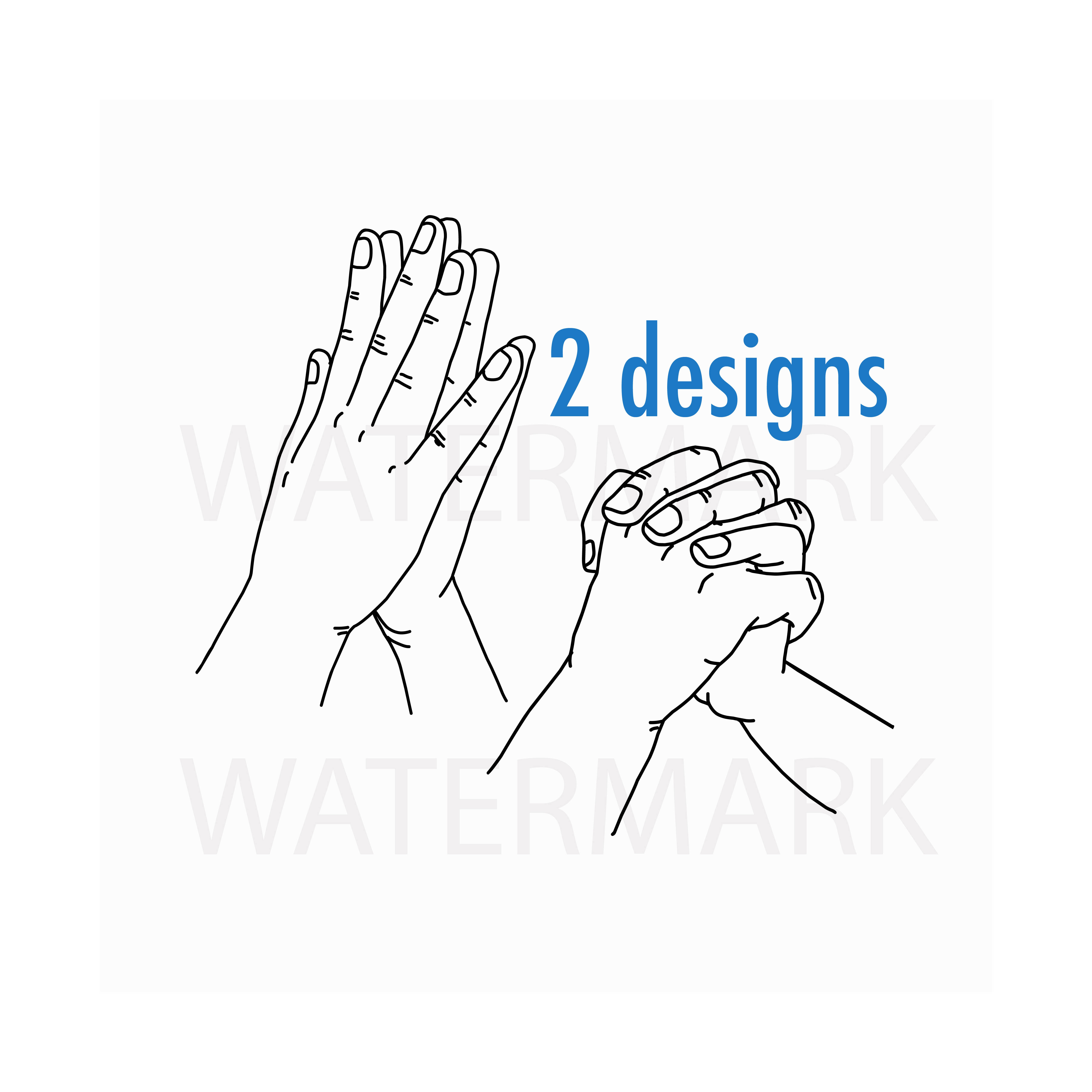 Holding Hand with love and desire - SVG/JPG/PNG Hand Drawing example image 1
