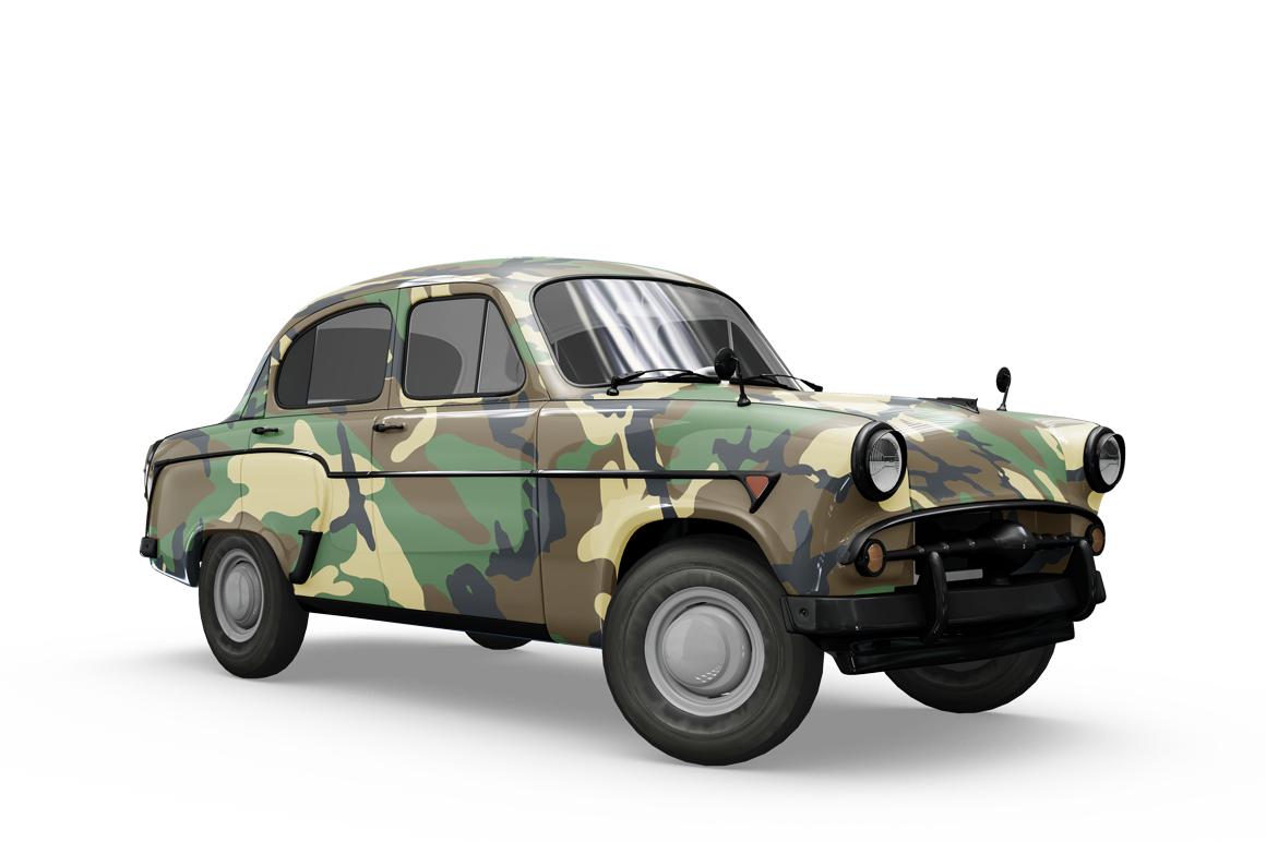 Vintage Car Mockup example image 5