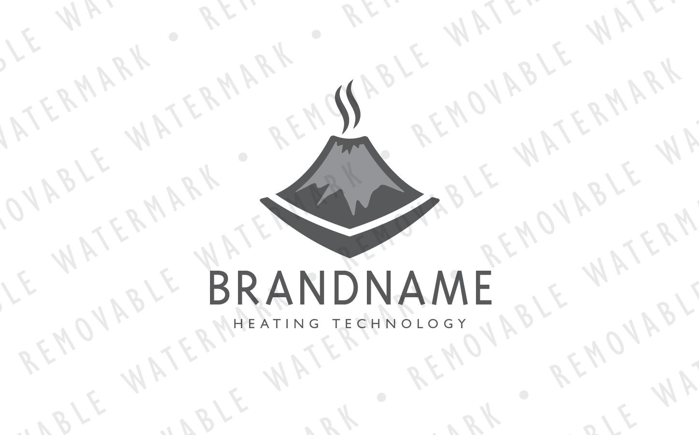 Smoldering Volcano Logo example image 4