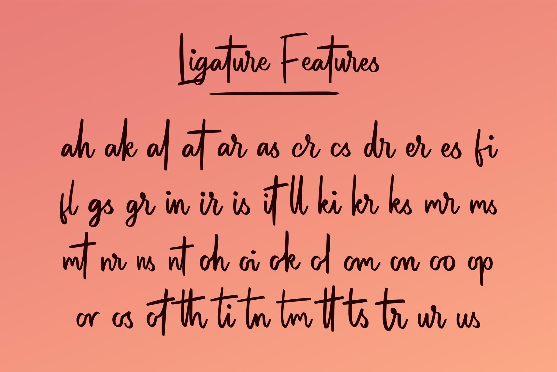 Patinson Script example image 3