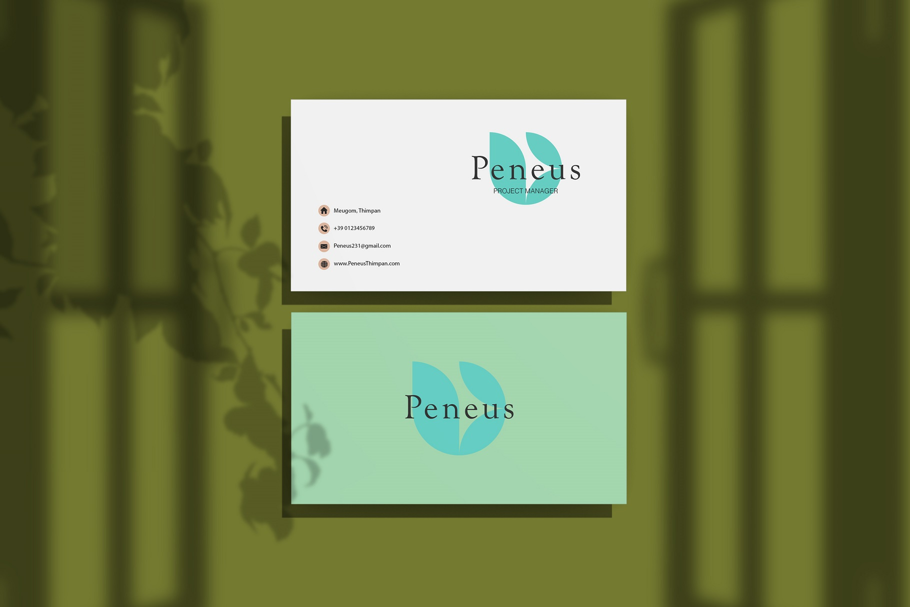 Businesscard Mockups example image 4