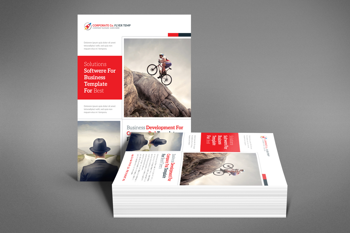 Global Business Flyer example image 3
