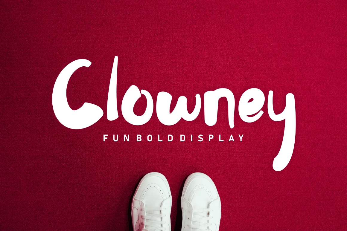 Clowney - Fun Bold Display example image 1