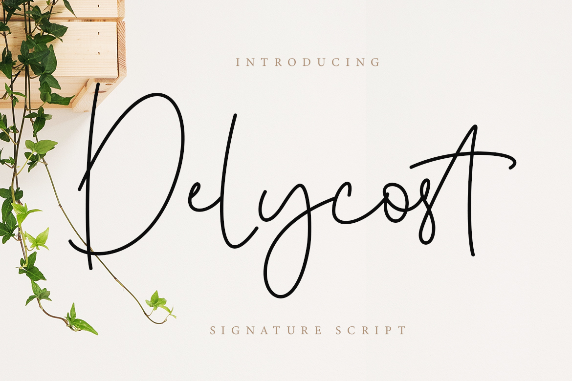 Delycost Signature Style example image 1