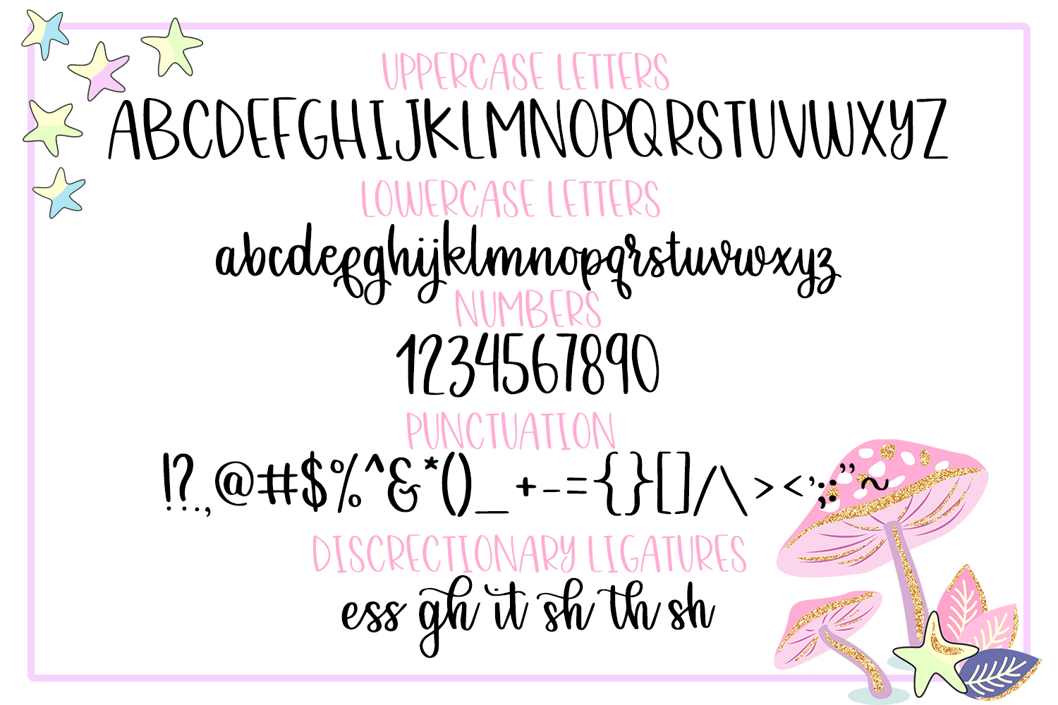 Grapefruit Delight Font - Hand Lettered Script example image 11