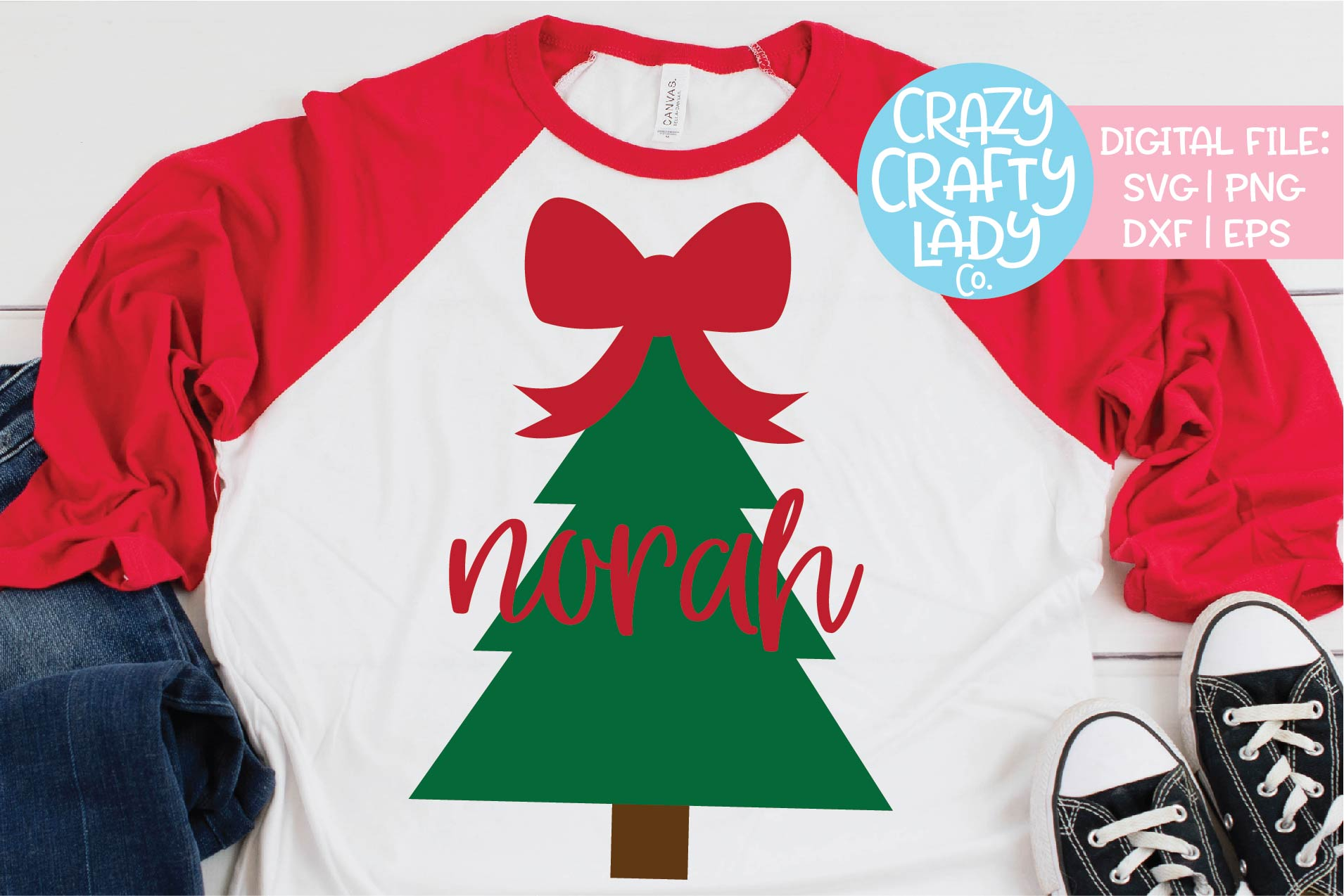 Christmas Bow Svg.Christmas Tree With Big Bow Svg Dxf Eps Png Cut File