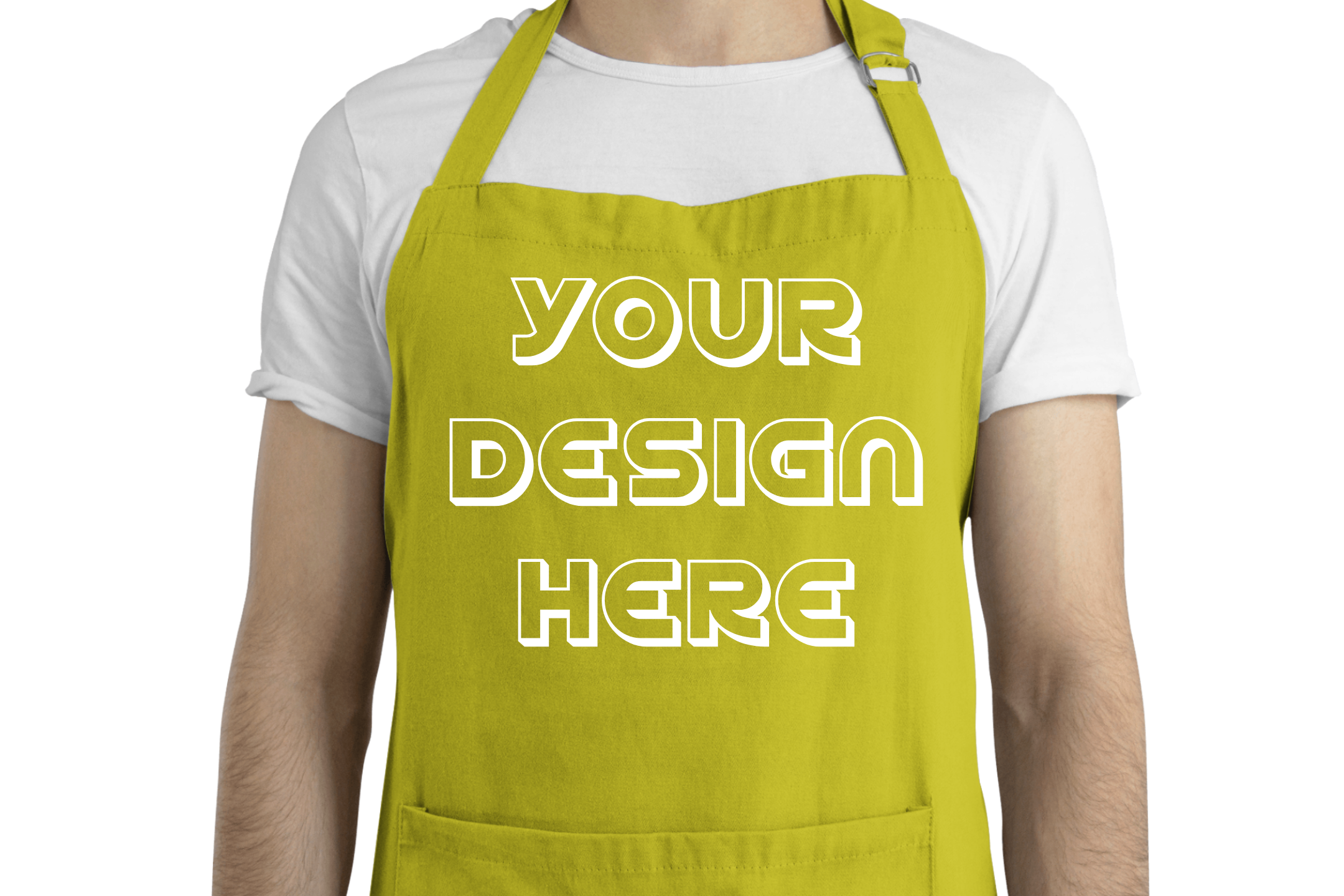 Apron Mockups - 9 | Men example image 10