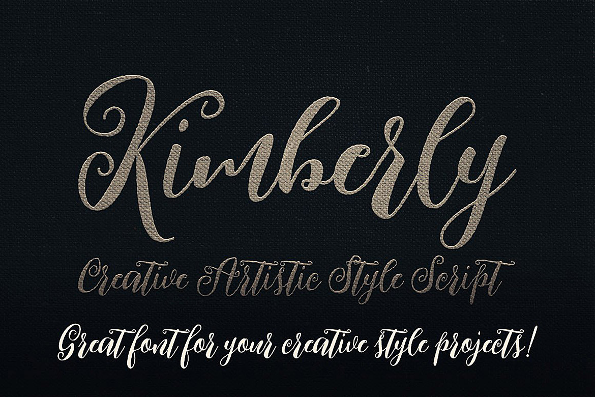 Kimberly Script Font example image 4