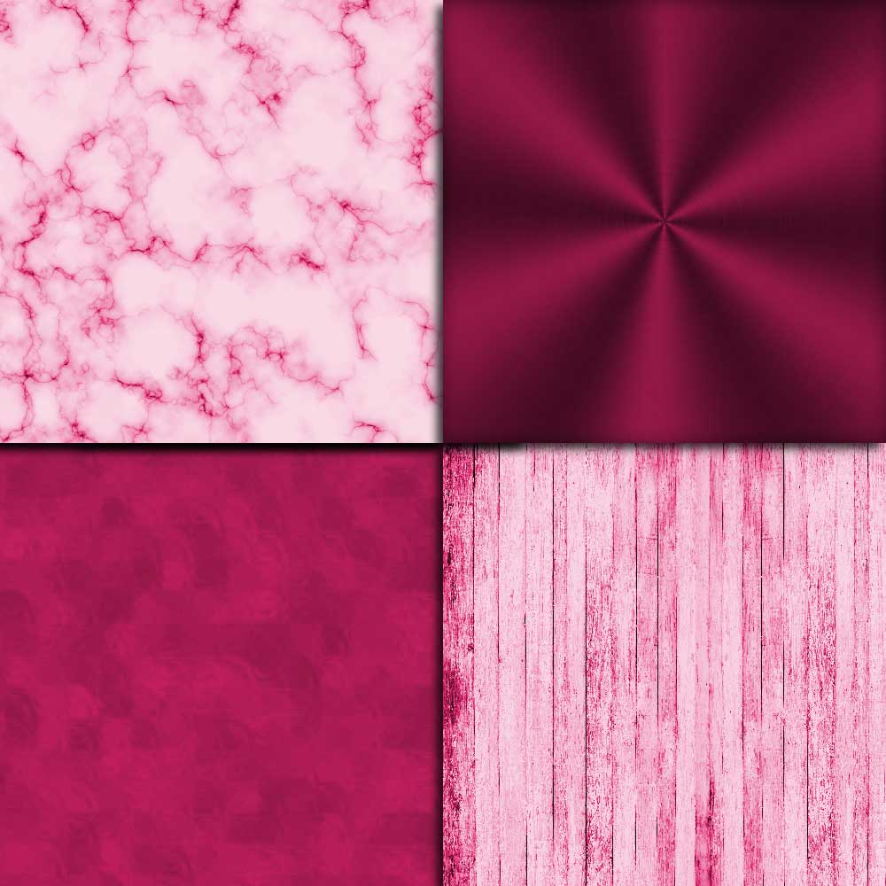 Hot Pink Textures Digital Paper example image 2