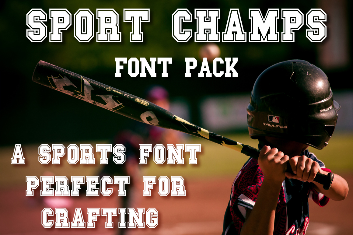 Sport Champs Font Pack for Crafters example image 2