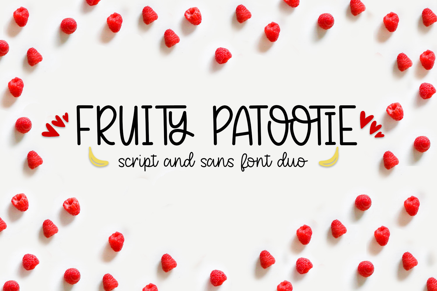 Fruity Patootie Font Duo example image 1