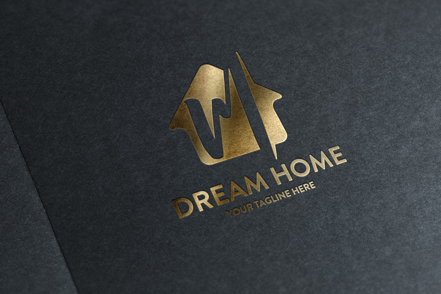 M letter house logo example image 3
