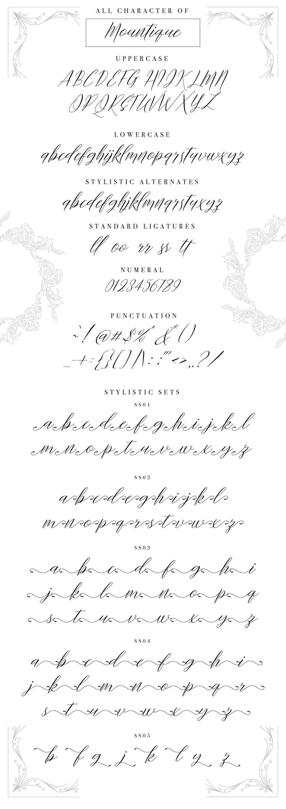 Mountique Typeface example image 8
