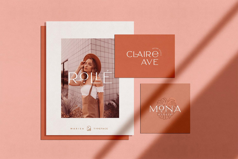 Classy Marisa - Elegant Fashion Stylish Typeface example image 2