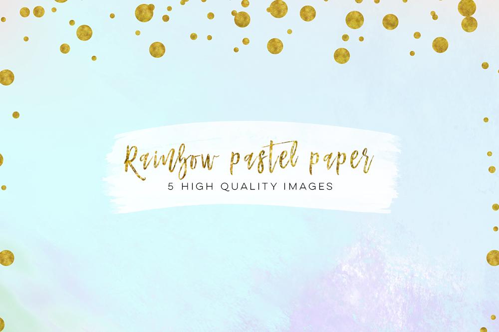 Digital scrapbook paper, Modern confetti gold prints, Gold Patterned paper, confetti border gold pastel paper, Paris paperie, pastel design example image 1