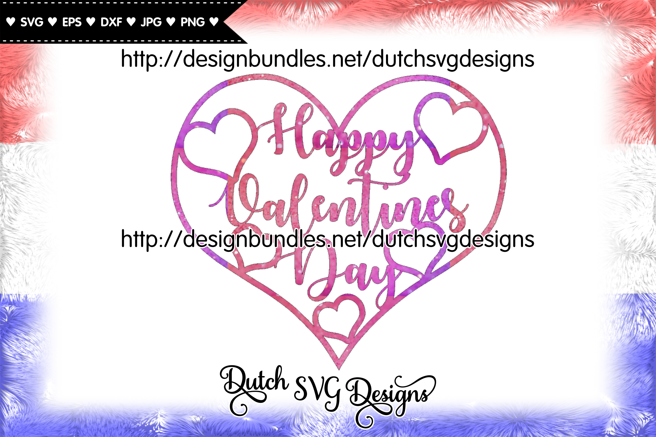 Happy Valentines Day cut file, valentine svg, heart svg example image 3