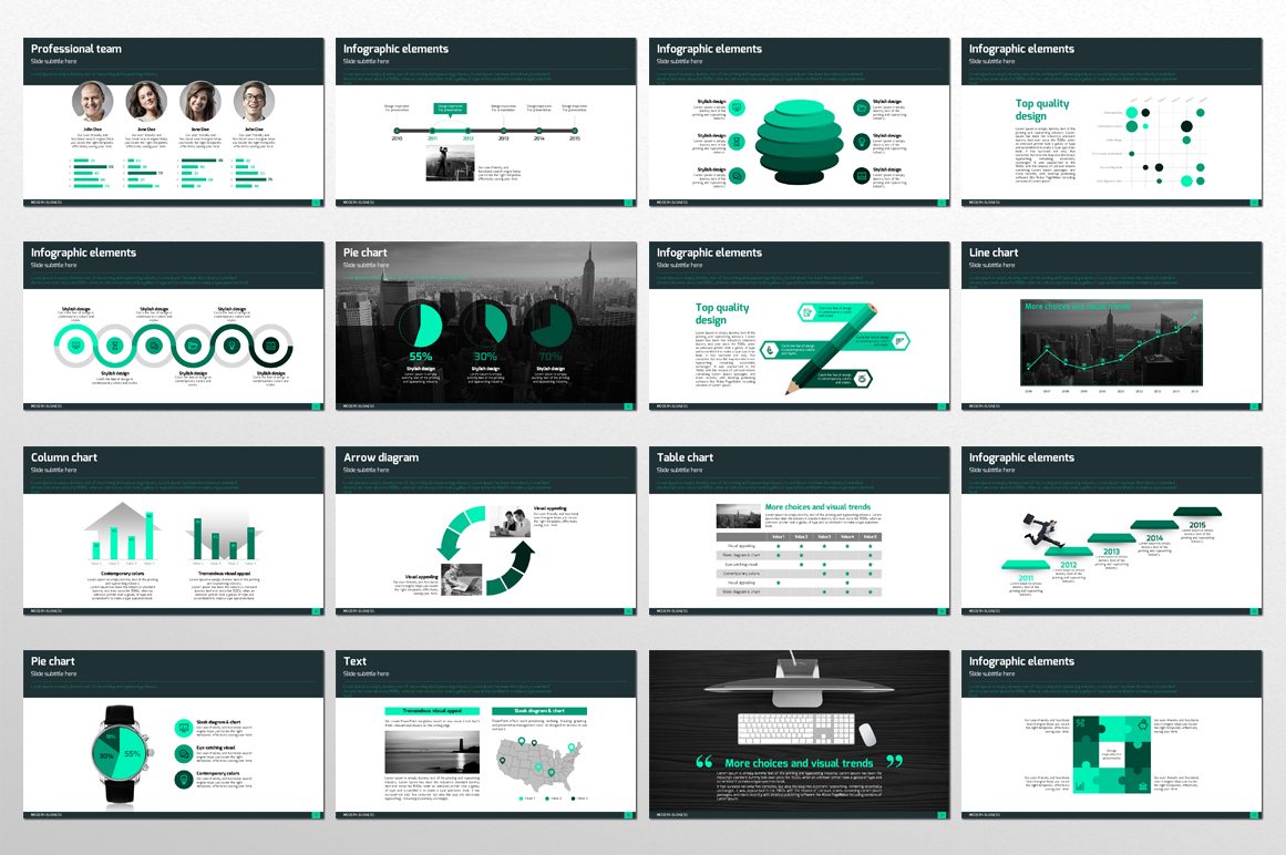 Modern Business PPT Template example image 2