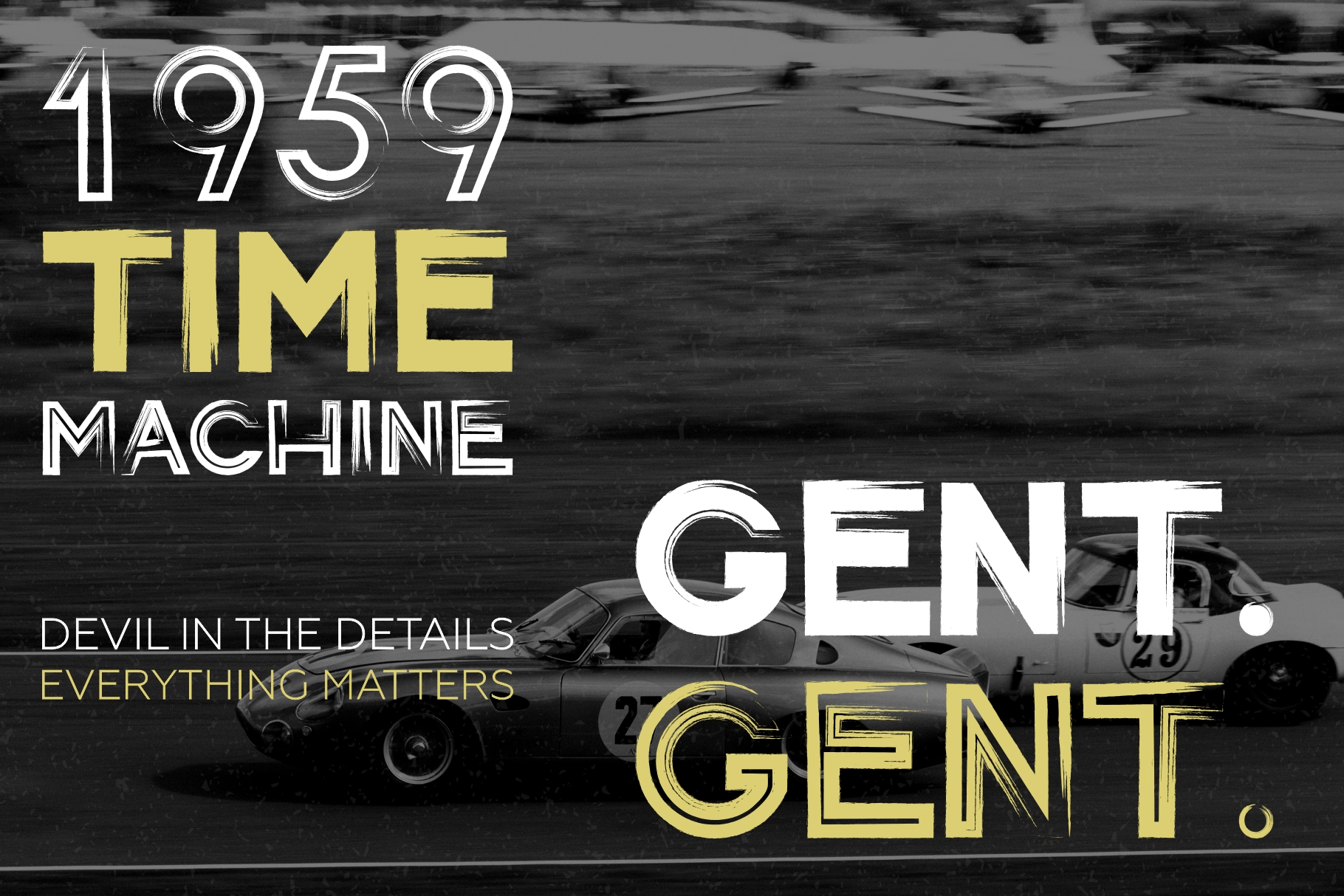 Gent. Display brushed typeface. Striking and modern. example image 4