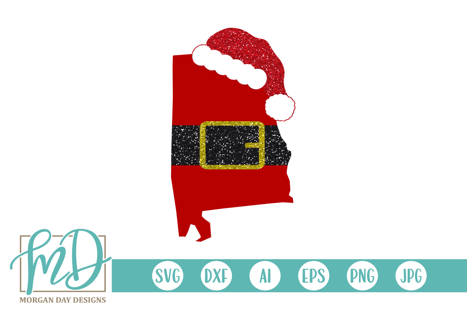 Alabama Christmas.Alabama Christmas Alabama Santa Svg