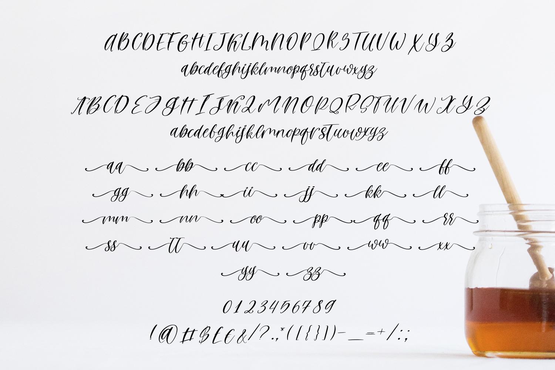 Rosemary Honey Script example image 5