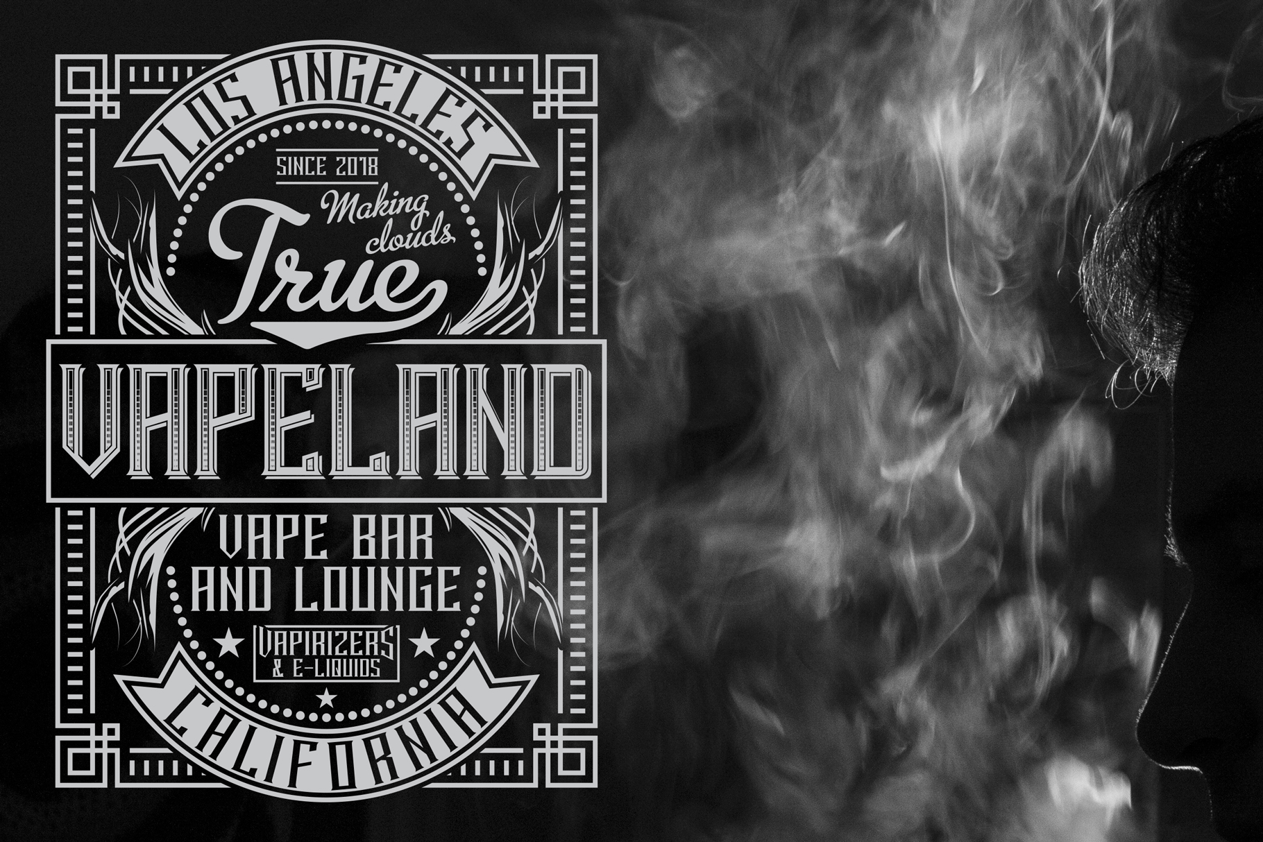 Smokers typeface example image 6