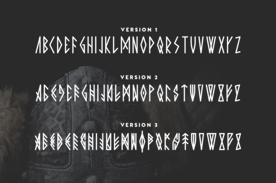 Jotunheim Typeface example image 3