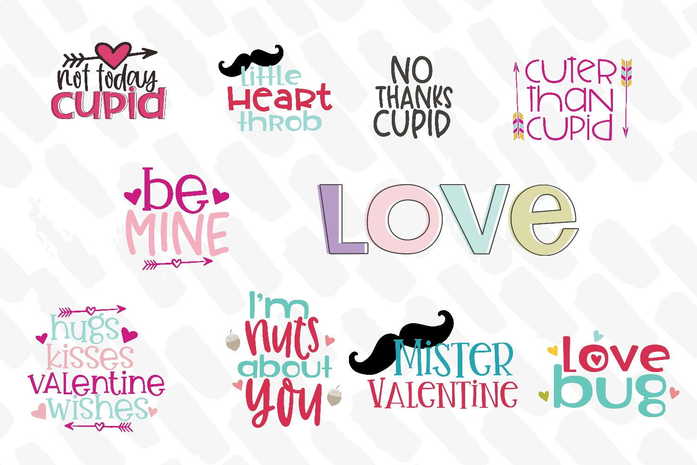 Valentine SVG Bundle example image 2