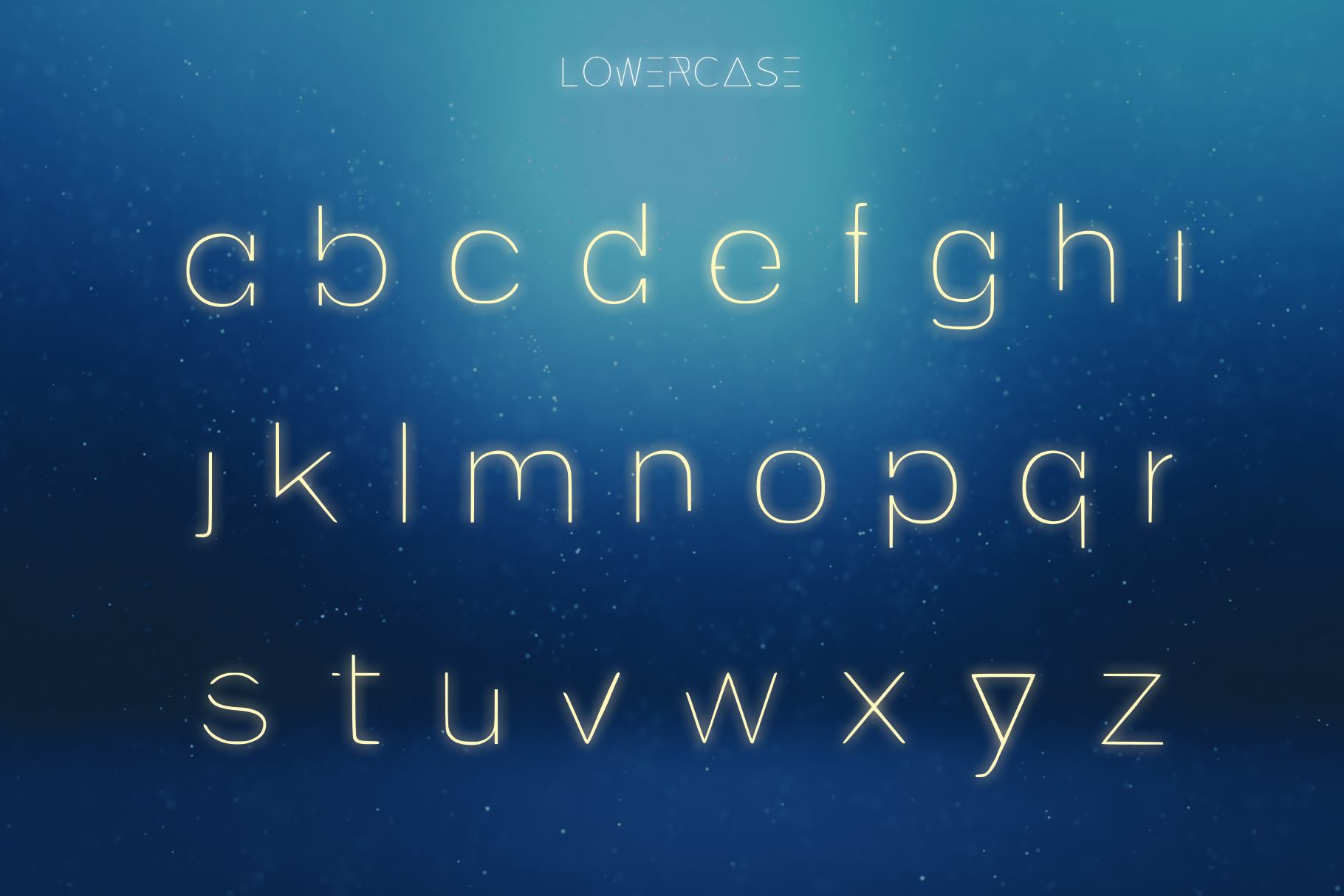 EXOPLANET - A Futuristic Typeface example image 2