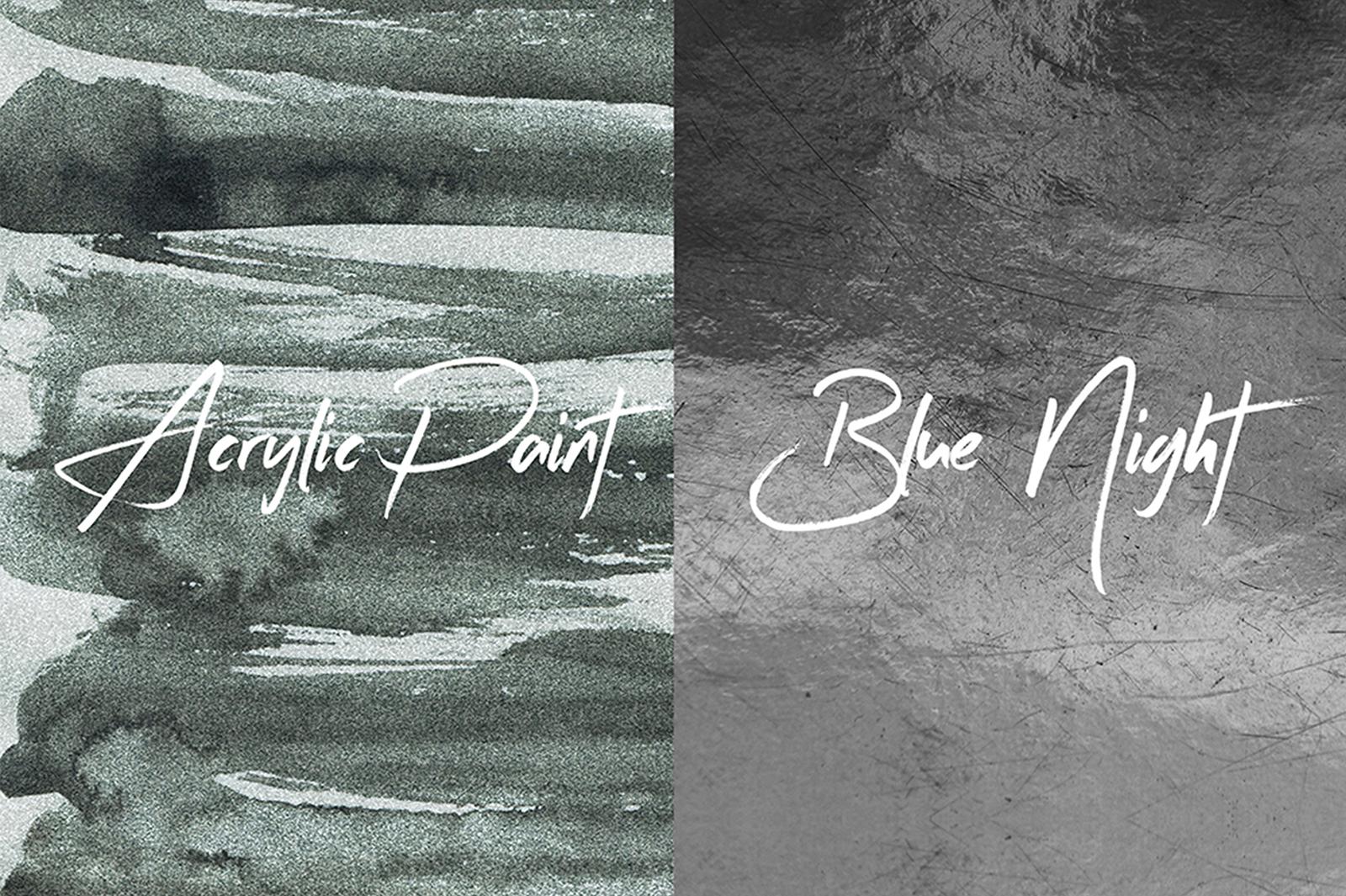 5 Mono Grunge Textures example image 2