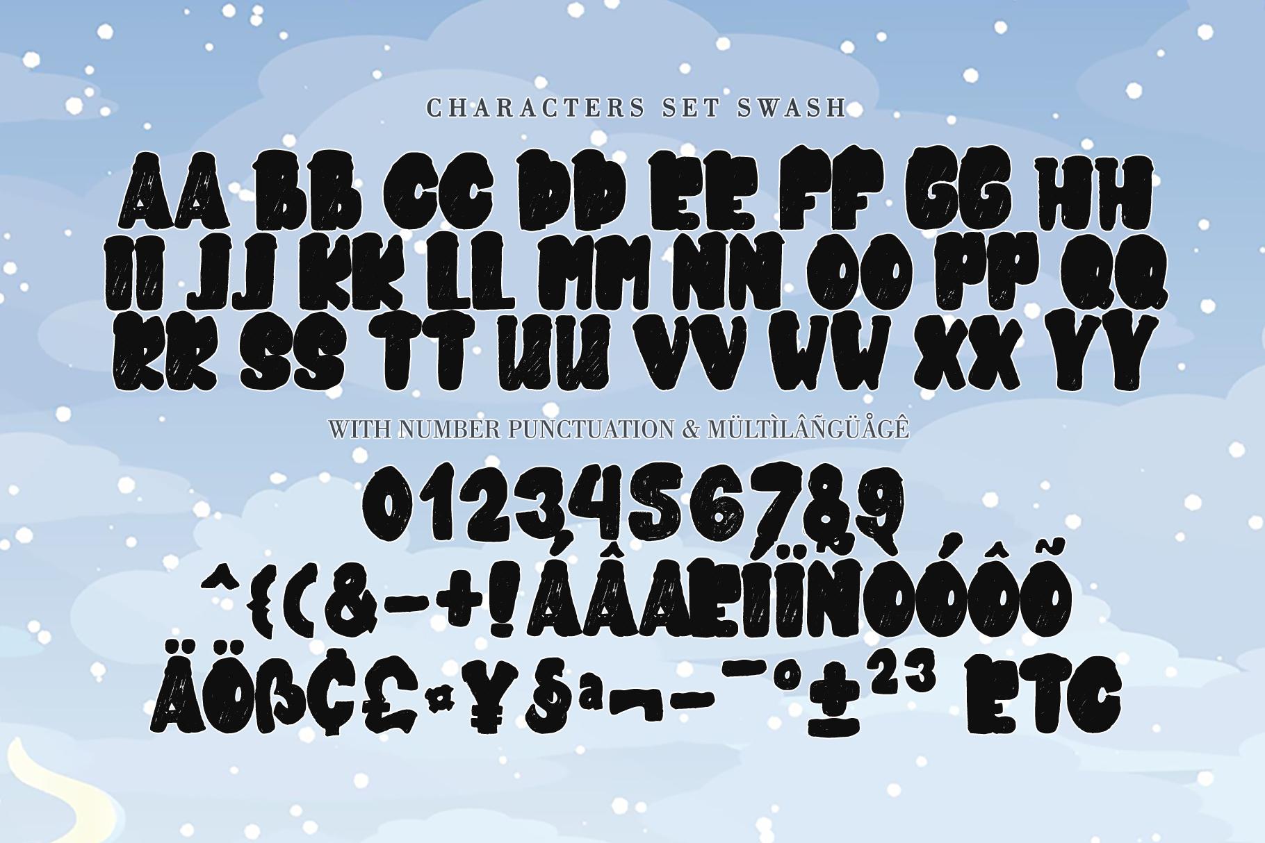 SNOWKY BRUSH example image 9