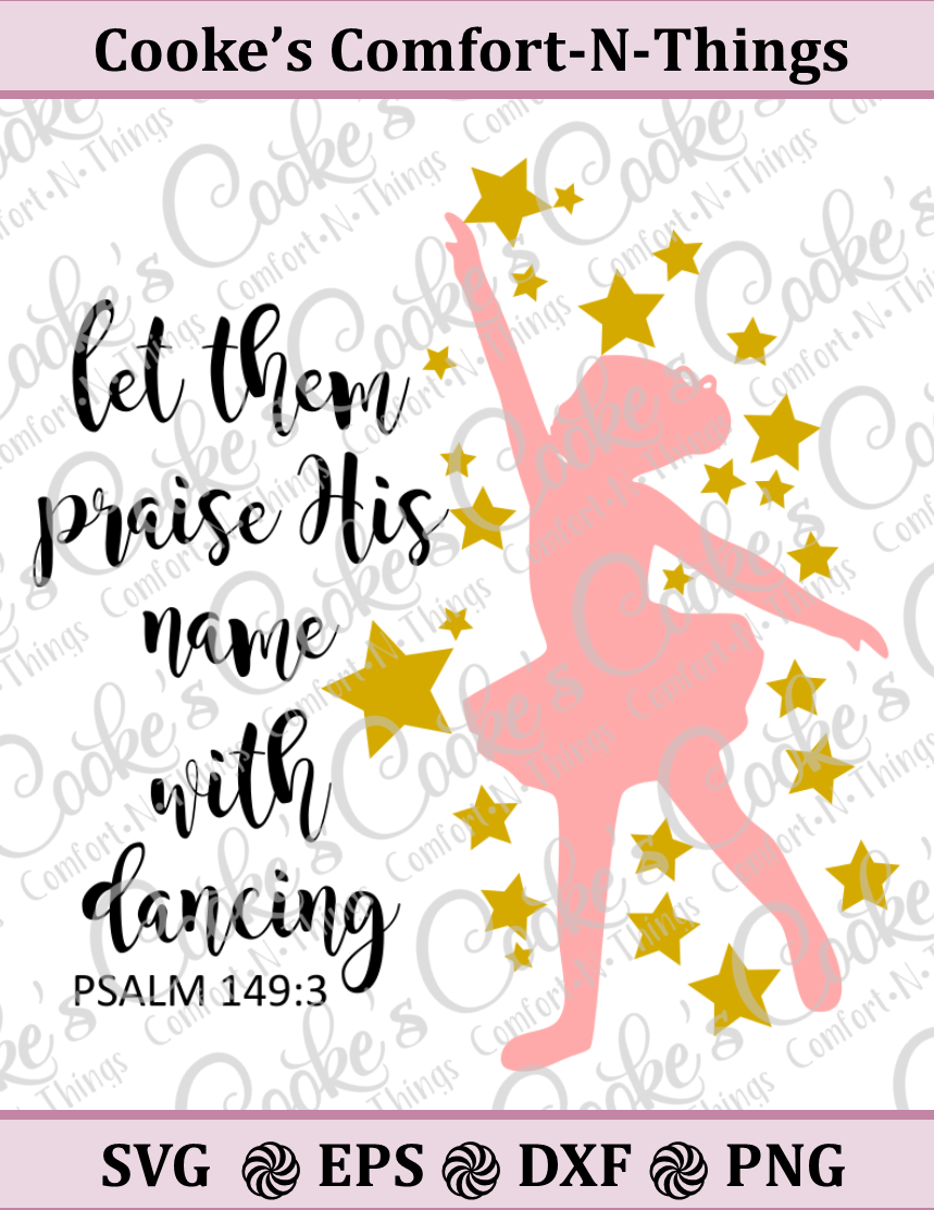 Let them praise His name with dancing example image 1