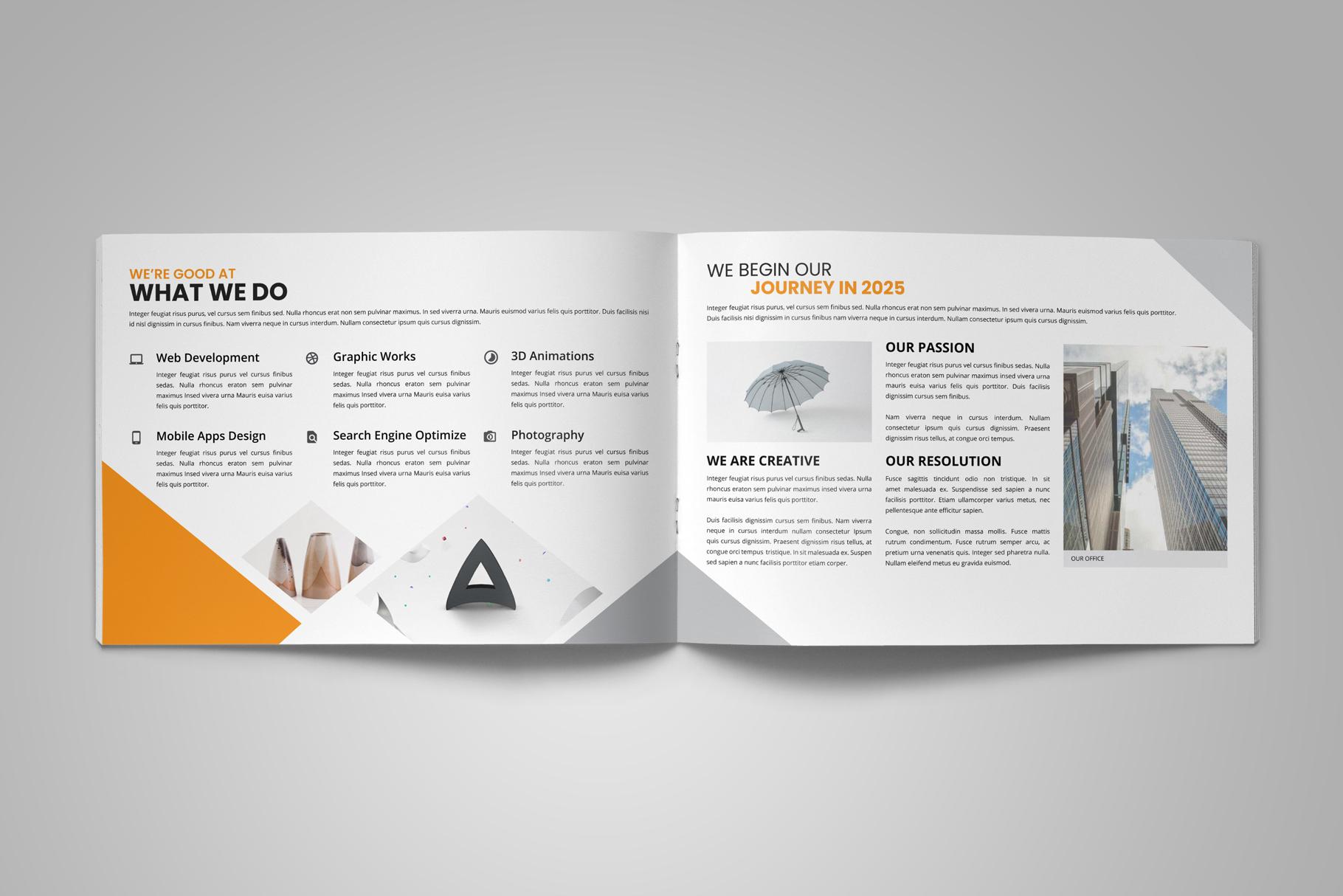 Digital Agency Portfolio Brochure v2 example image 4
