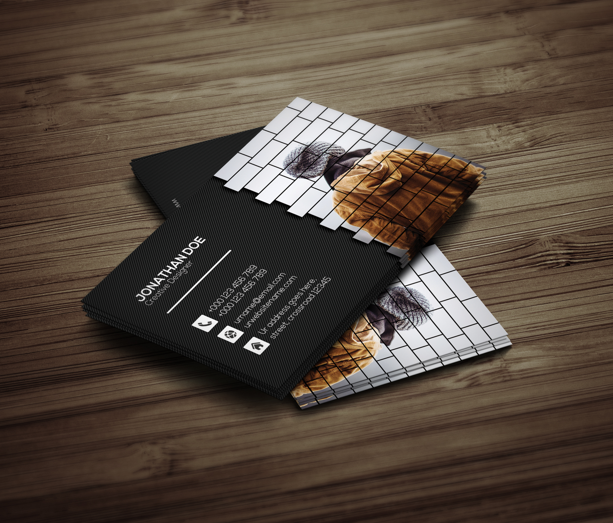 Creative Business Card example image 4
