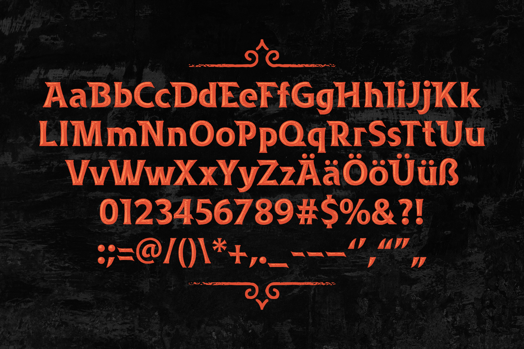Rusted Bevel Typeface example image 4