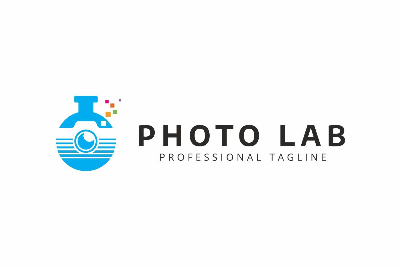 Photo Lab Logo example image 2