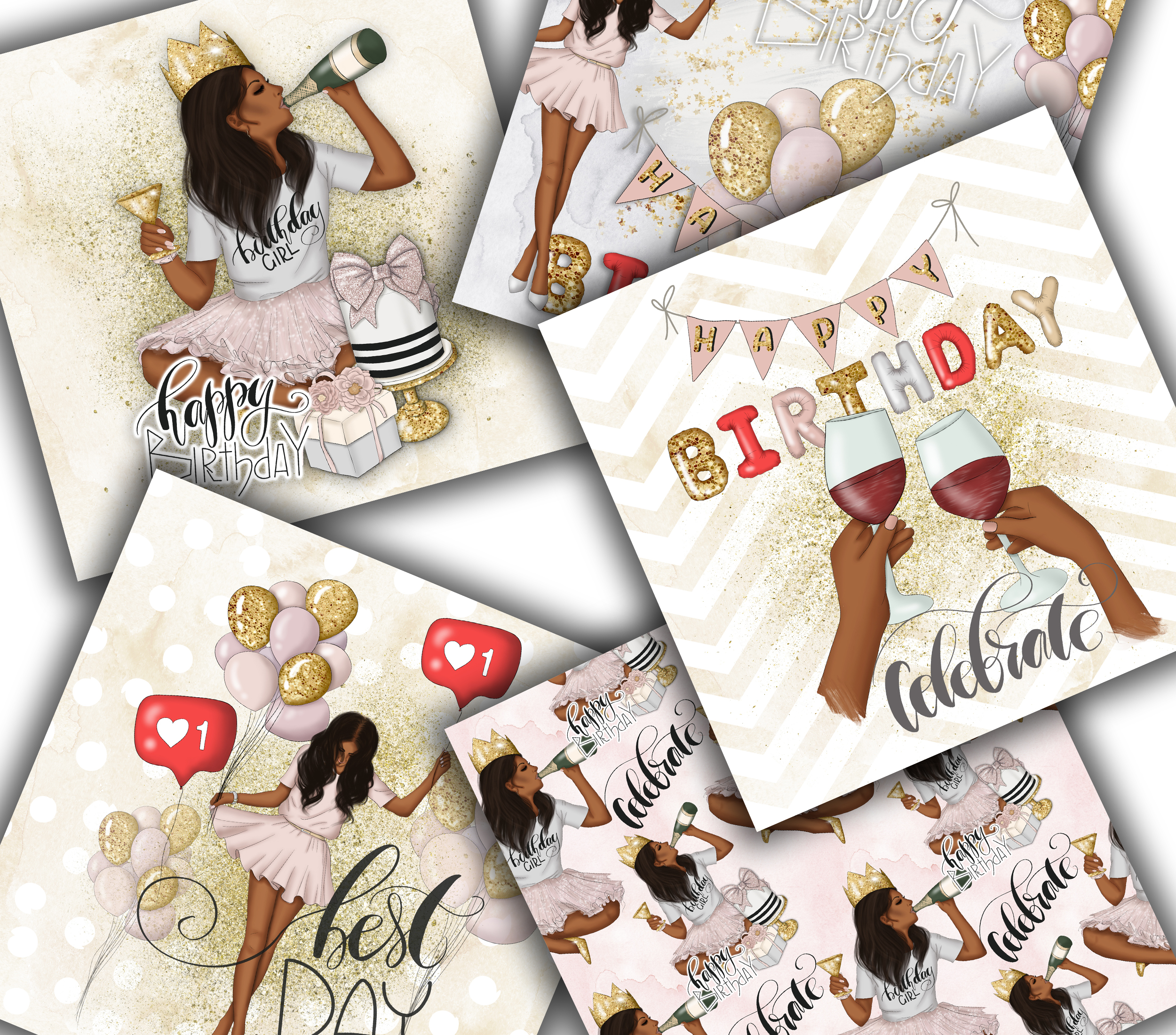 Best Day Ever Clipart Graphic Design example image 12