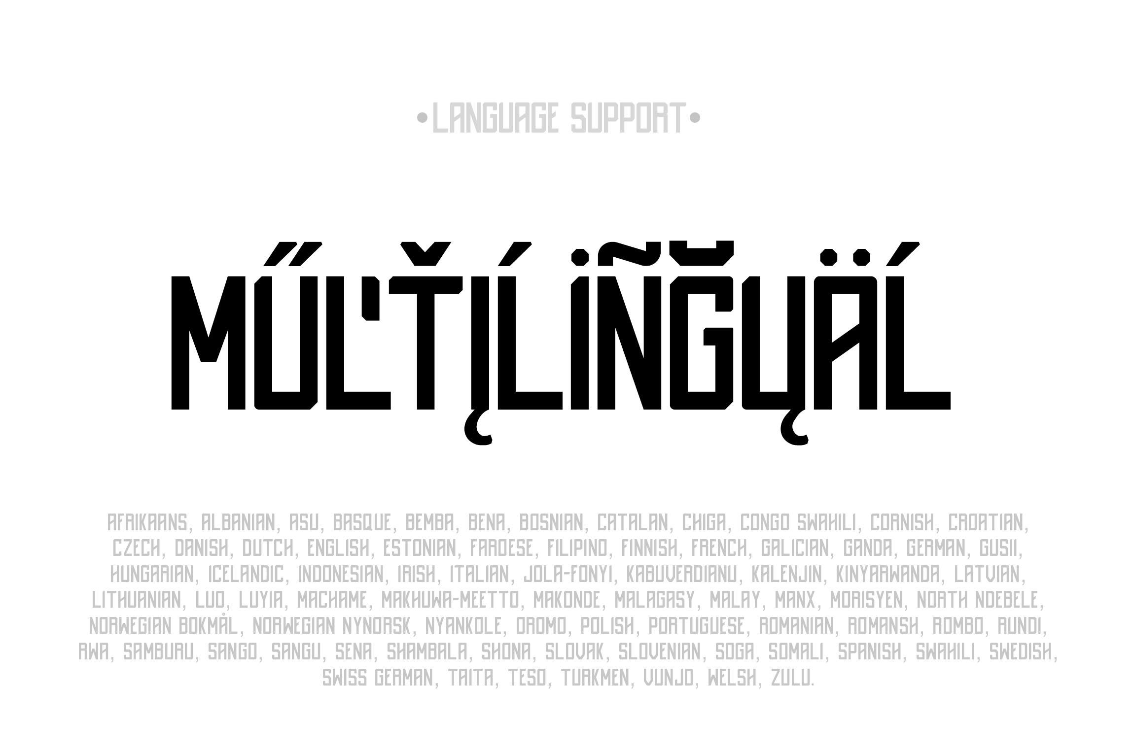 Destrukt - Sans Serif Font- 2 Styles example image 6