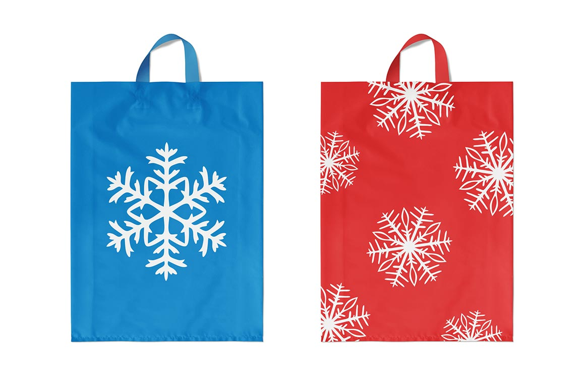 500 Snowflake Vector Ornaments example image 15