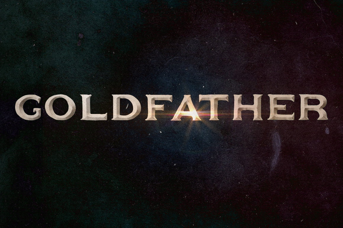 Goldfather Typeface example image 1