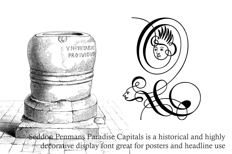 Seddon Penmans Paradise Capitals example image 2