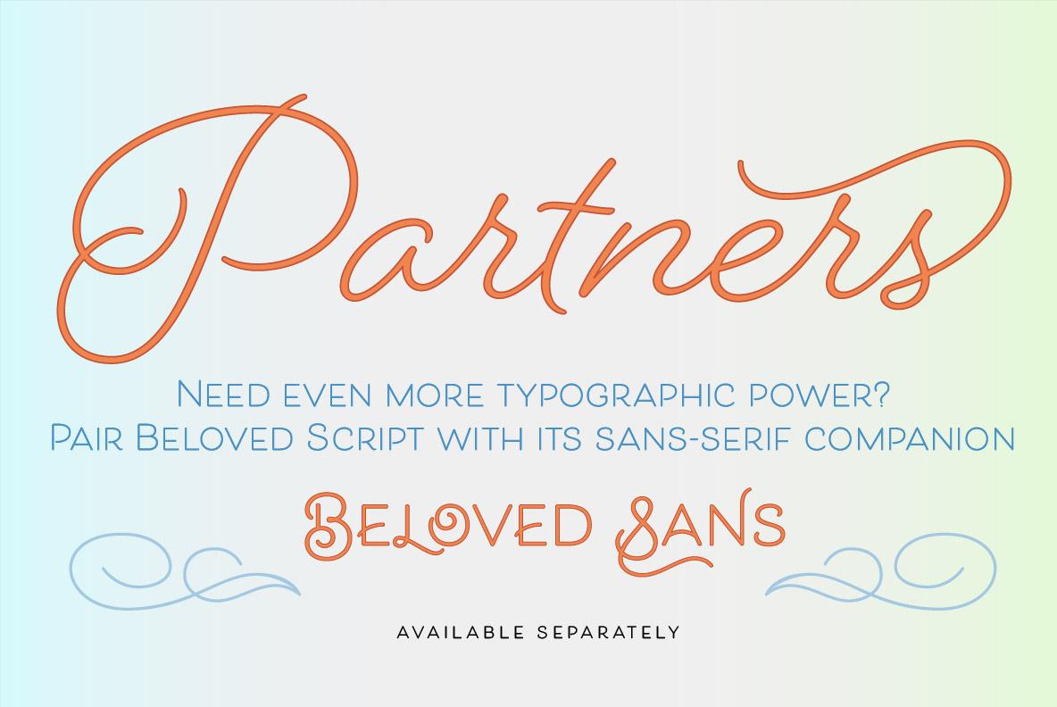 Beloved Script Regular example image 35