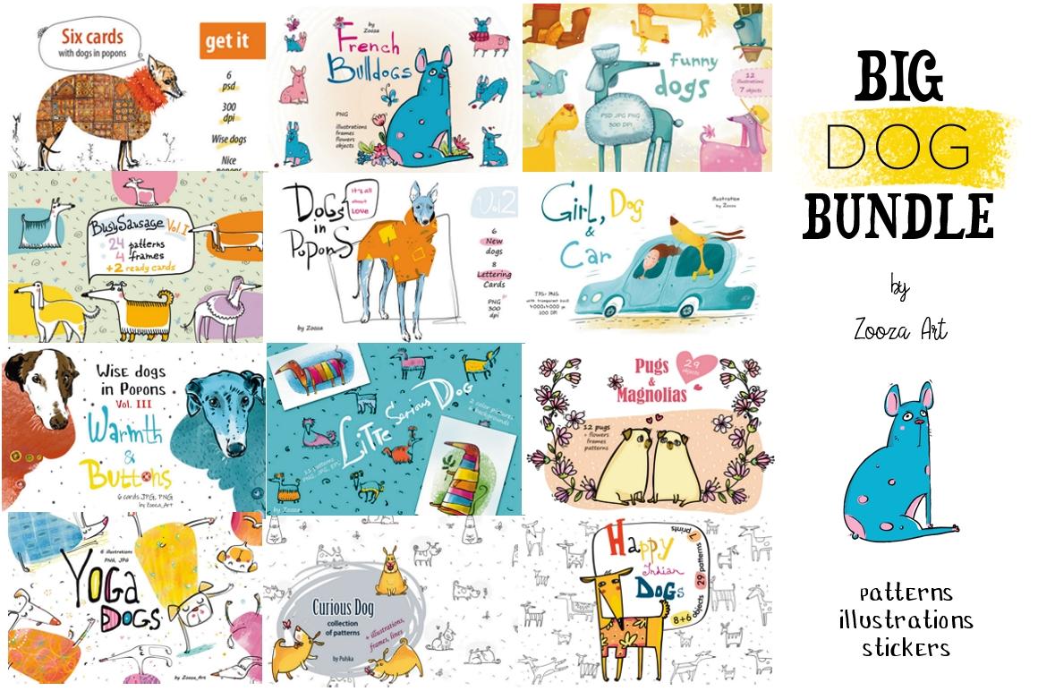 Big DOG Bundle - 12 collections example image 1