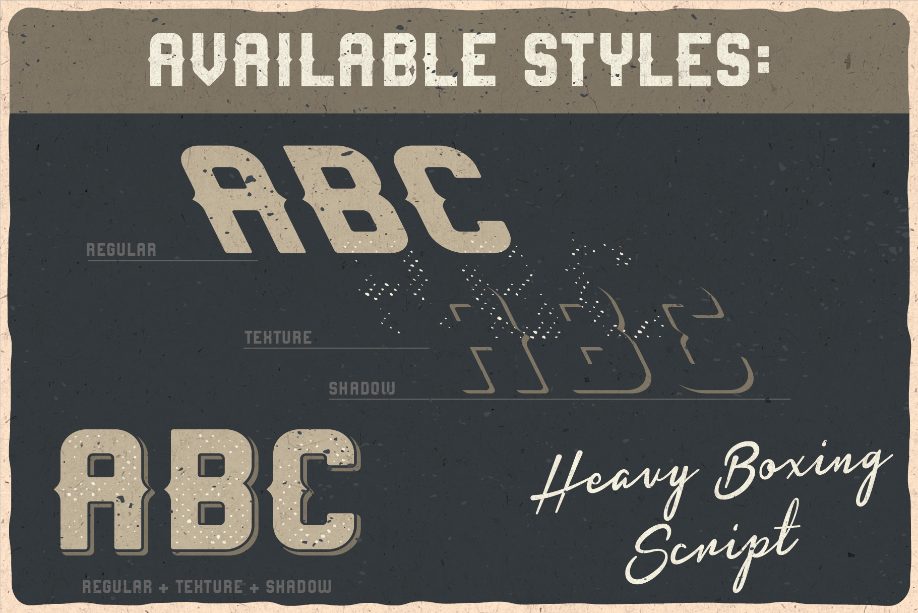 Heavy Boxing. Font Duo example image 4