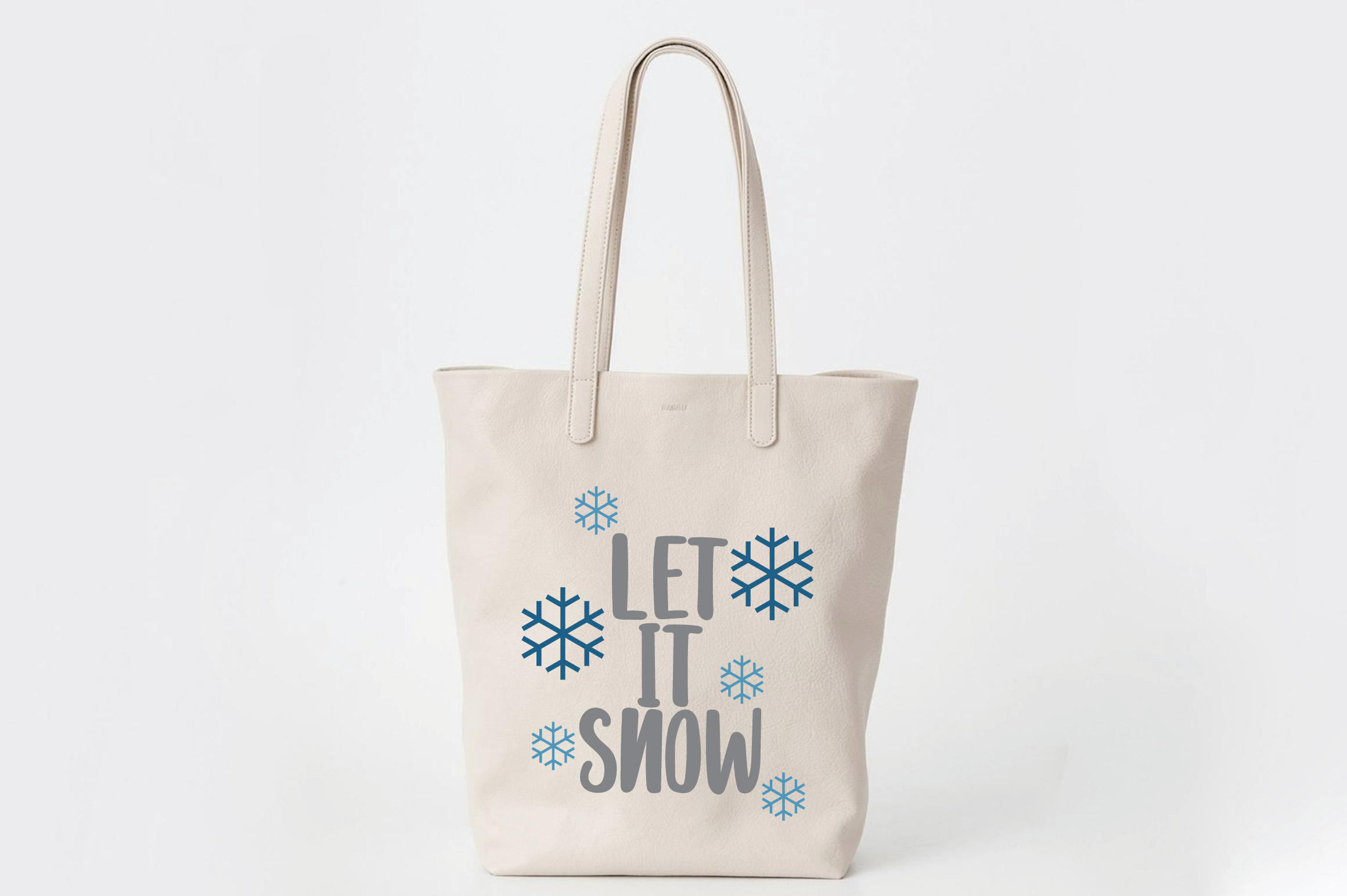 Let it Snow SVG Cut File - Christmas SVG example image 8