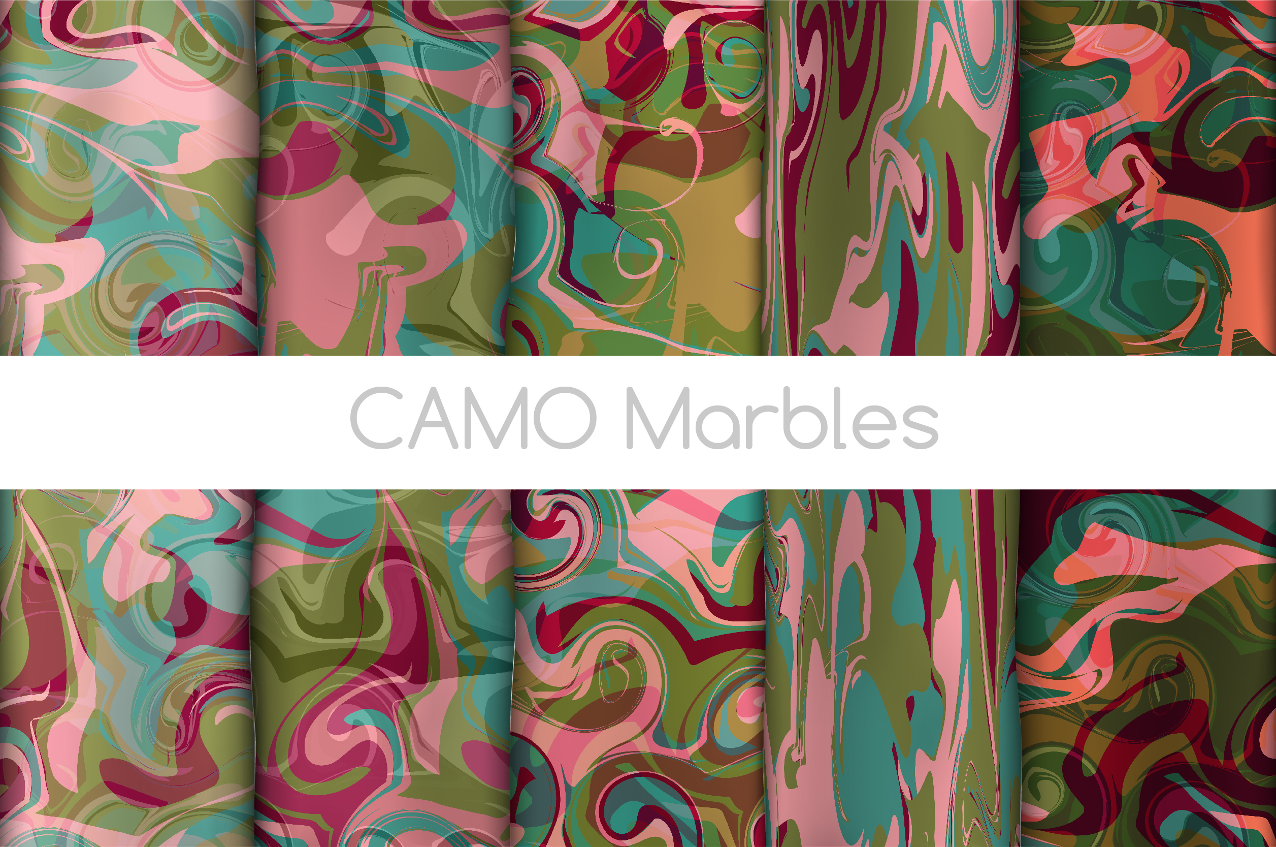 The BIGGEST Marbled Paper Collection example image 6