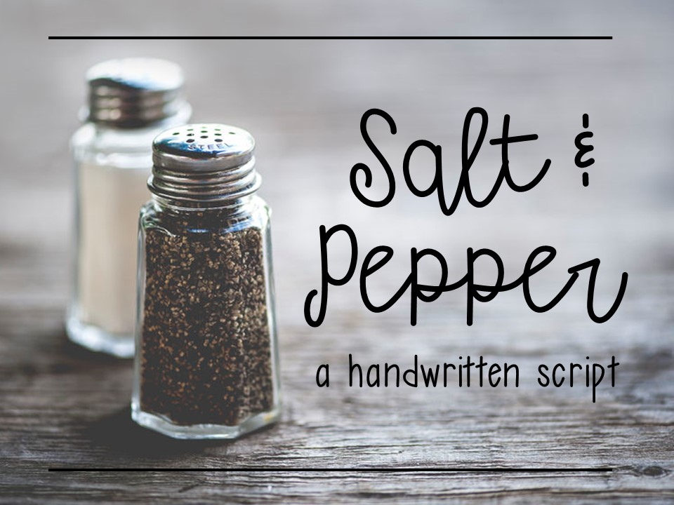 Salt and Pepper example image 1