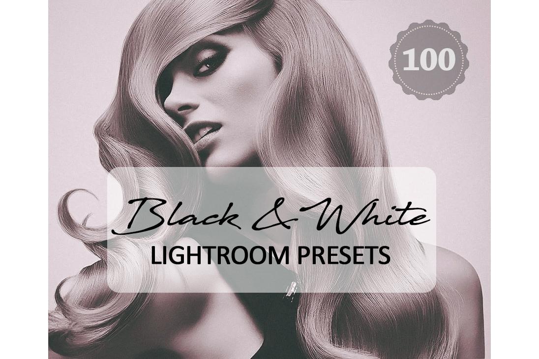 Black White Lightroom Presets example image 1