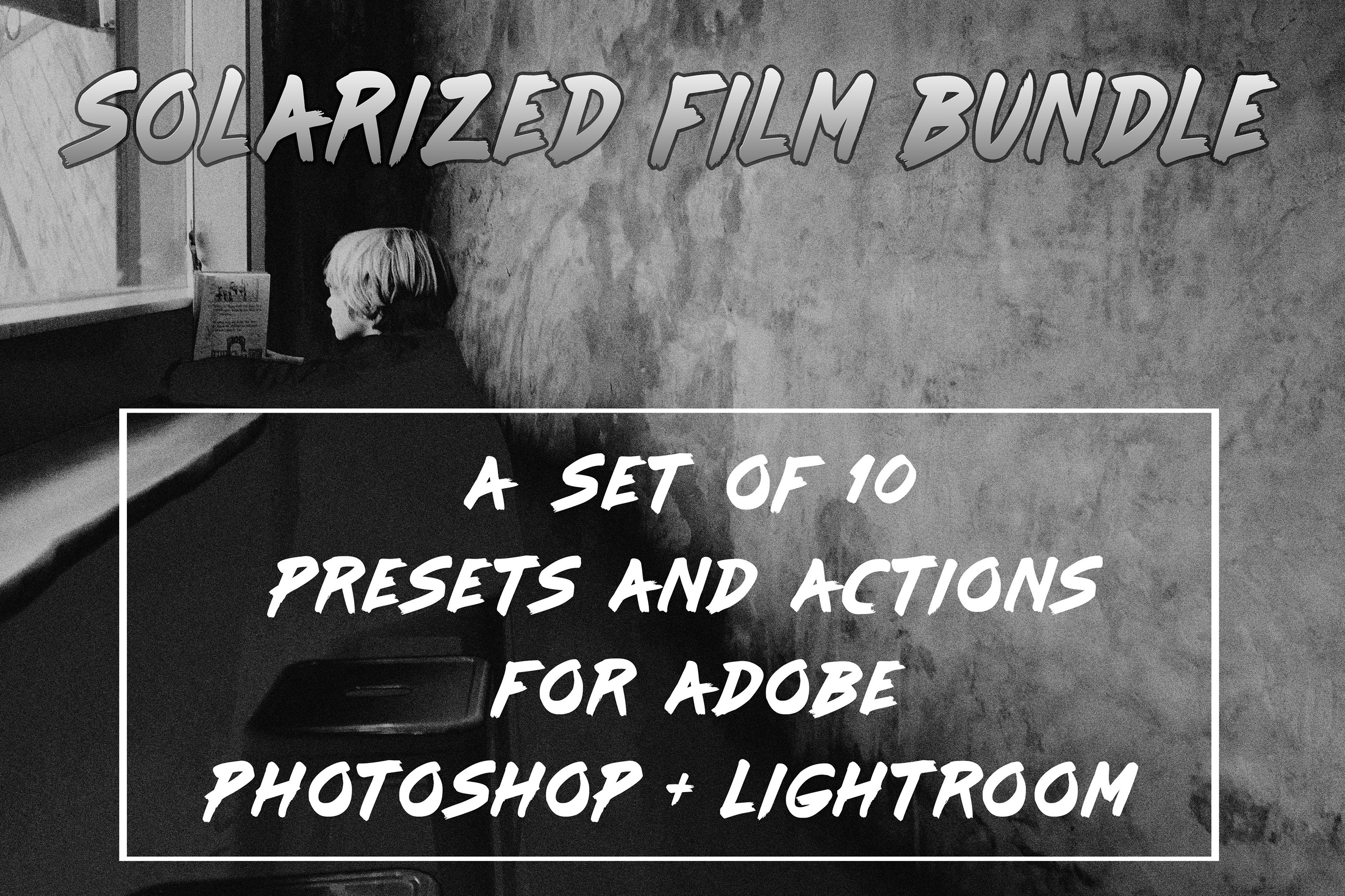 Solarized Film Lightroom Presets and Photoshop Actions Set example image 1