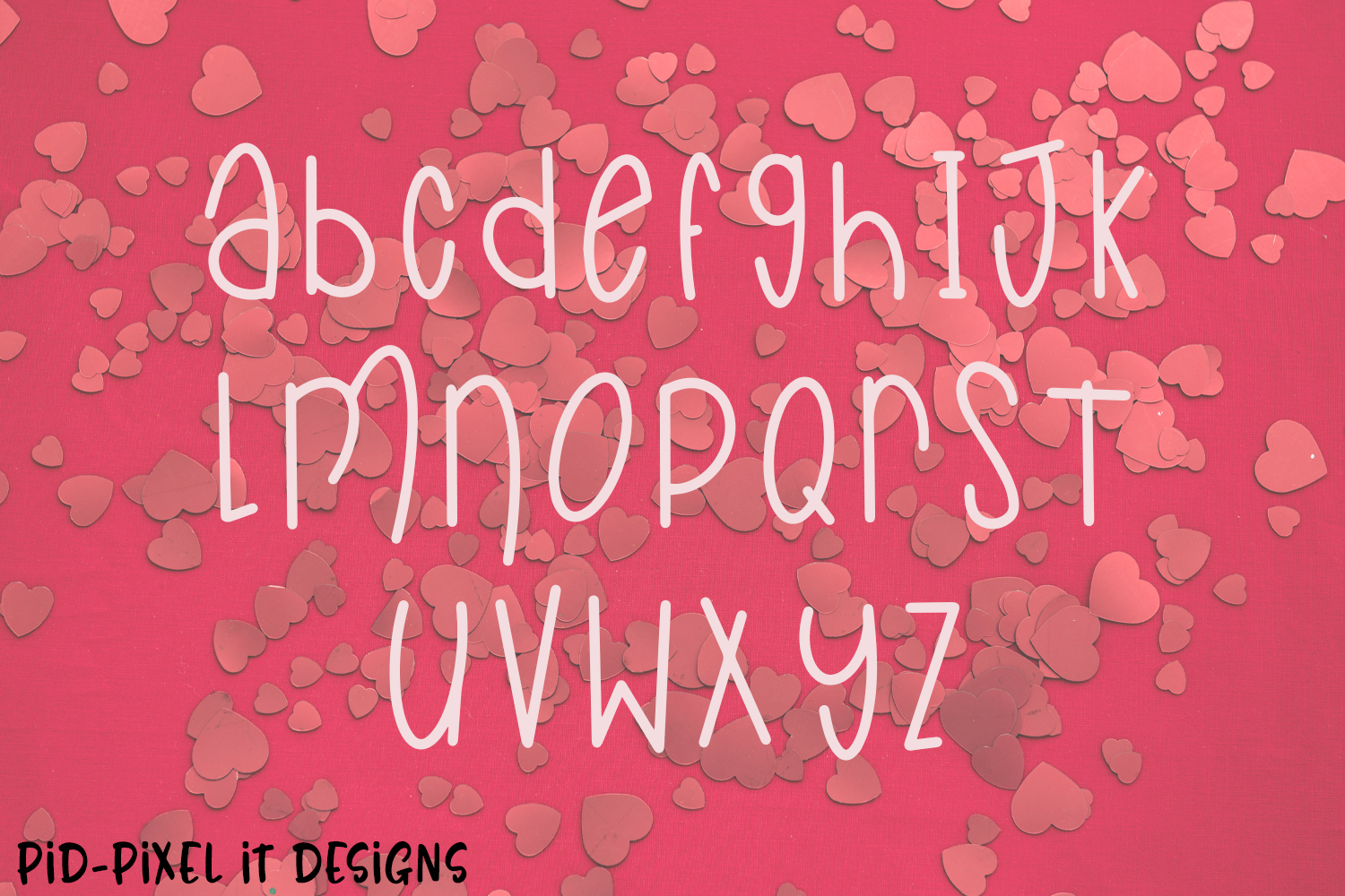 LoveFest A Cute Heart Font example image 2